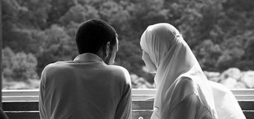Ilustrasi Pasangan Suami Istri Muslim