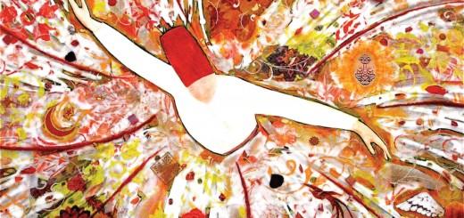 Wallpaper Sufi/ whirling dervish