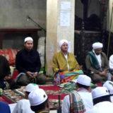 Ahbabul Mustofa di masjid jami' al-barokah genggong